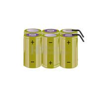 Packs de baterías tamaño C 7.2 Voltios 4.500 mAh NI-CD RB90033780
