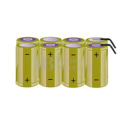 Packs de baterías tamaño C 9.6 Voltios 4.500 mAh NI-CD RB90033781