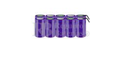 Packs de baterías tamaño D 12 Voltios 5.000 mAh NI-CD RB90033790