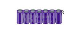 Packs de baterías tamaño D 16.8 Voltios 5.000 mAh NI-CD RB90033796