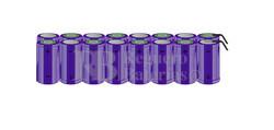 Packs de baterías tamaño D 19.2 Voltios 5.000 mAh NI-CD RB90033797