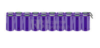 Packs de baterías tamaño D 24 Voltios 5.000 mAh NI-CD RB90033792