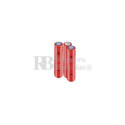 Packs de baterías AA 3.6 Voltios 2.000 mAh NI-MH RB90034167
