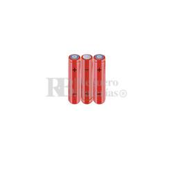 Packs de baterías AA 3.6 Voltios 2.000 mAh NI-MH RB90034170