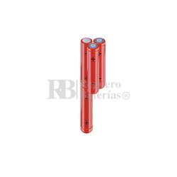 Packs de baterías AA 4.8 Voltios 2.000 mAh NI-MH RB90034171