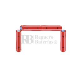 Packs de baterías AA 4.8 Voltios 2.000 mAh NI-MH RB90034172