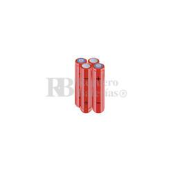 Packs de baterías AA 4.8 Voltios 2.000 mAh NI-MH RB90034173