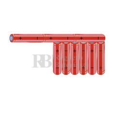 Packs de baterías AAA 10.8 Voltios 800 mAh NI-MH RB90033974