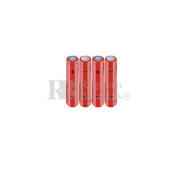 Packs de baterías AAA 4.8 Voltios 800 mAh NI-MH RB90033952