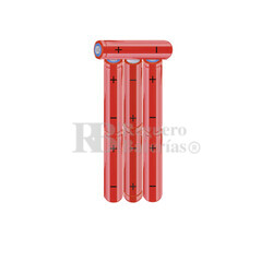 Packs de baterías AAA 8.4 Voltios 800 mAh NI-MH RB90033938