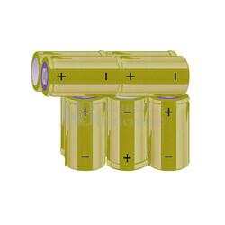 Packs de baterías C 12 Voltios 4.500 mAh NI-MH RB90034003