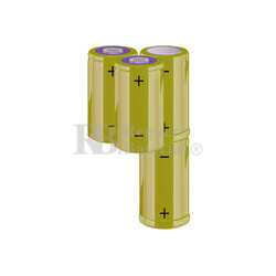 Packs de baterías C 4.8 Voltios 4.500 mAh NI-MH RB90033992