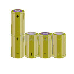 Packs de baterías C 6 Voltios 4.500 mAh NI-MH RB90033983