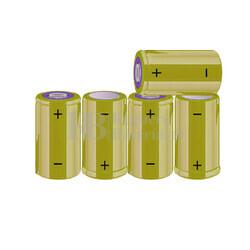 Packs de baterías C 6 Voltios 4.500 mAh NI-MH RB90033987