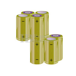 Packs de baterías C 9.6 Voltios 4.500 mAh NI-MH RB90034001