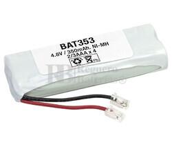 Packs de baterías radio control 4.8 Voltios 400 mAh 2/3AAA NI-MH 58,0x23,5x12,0mm