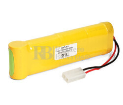 Packs de baterías radio control 8.4 Voltios 3.300 mAh NI-MH 181,0x18,0x25,0mm