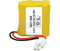Packs de baterías radio control 9.6 Voltios 950 mAh AAA NI-MH 40,0x44,0x20,0mm