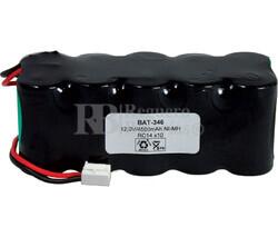 Packs de baterías recargables 12 Voltios 4.500 mAh NI-MH 127,2x51,4x48,6mm