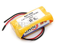 Packs de baterías recargables 2.4 Voltios 2.500 mAh AA NI-MH 28,0x50,0x14,0mm