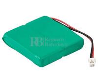 Packs de baterías recargables 2.4 Voltios 550 mAh HFC1UX2 NI-MH 33,5x38,0x6,5mm