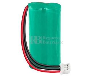 Packs de baterías recargables 2.4 Voltios 700 mAh AAA NI-MH 20,5x44,0x10,5mm