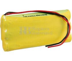 Packs de baterías recargables 3.6 Voltios 1.100 mAh AAA NI-MH 31,5x44,0x10,5mm
