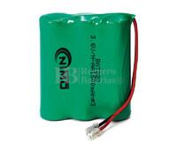 Packs de baterías recargables 3.6 Voltios 1.600 mAh AA NI-MH 42,0x50,0x14,0mm