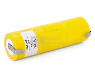 Packs de baterías recargables 3.6 Voltios 2.200 mAh RC1-D NI-CD 32,5x105,0mm