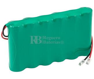 Packs de baterias recargables 7.2 Voltios 2.400 mAh AA NI-MH 86,0x51,0x14,0mm