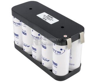 Packs de baterías recargables SAFT VTF 12 Voltios 7.000 mAh NI-CD