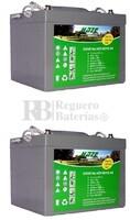 Baterías Gel para silla de ruedas 12 Volt 44 Amp