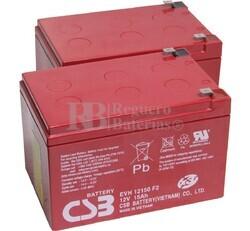 Baterías 24 Voltios 15 Amperios para Vehículos Eléctricos