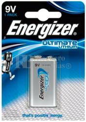 Pila 9V Lithium Ultimate Energizer LR61 L522