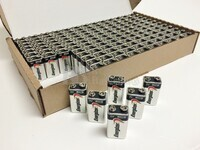 Pila Alcalina 9 Voltios ENERGIZER INDUSTRIAL  (Bulk de 156 Unidades)