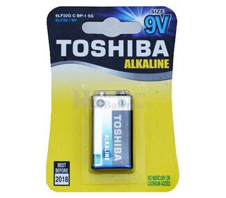 Pila Alcalina 9 Voltios Toshiba 6LF22