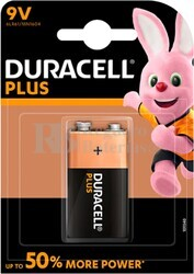 Pila Duracell Plus Power 9 Voltios LR61 Blister 1U