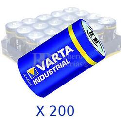 Pila Alcalina LR14 1.5 Voltios 7.800Mah VARTA INDUSTRIAL  (Bulk de 200 Unidades)