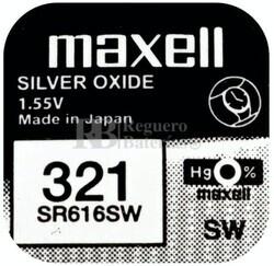 Pila Maxell SR616SW - 321
