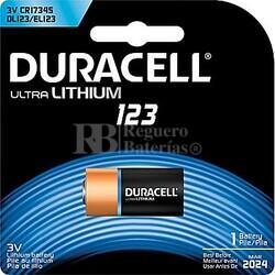 Pila de litio 3 Voltios Duracell Ultra Blister