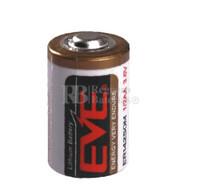 Pila de Litio EVE 1/2 AA  3,6 Voltios 0,75Ah ER14250M-EN
