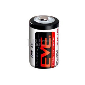 Pila de Litio EVE 1-2 AA  3,6 Voltios 1.200mAh ER14250-EN
