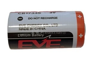Pila de Litio EVE 2-3A 3 Voltios 1500 mAh CR17335