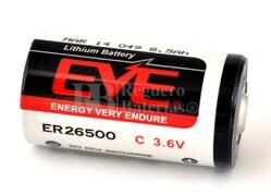 Pila de Litio EVE Tamaño C 3,6 Voltios 8,5 Ah ER26500-EN