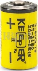 Pila Litio 3,6 Voltios 1.200 mAh Keeper LPT2150 1/2AA