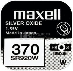 Pila de Litio Maxell SR920W - 370