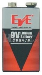 Pila de Litio para Alarma 9 Voltios 1.200 mah CR9V-P