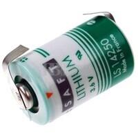 Pila de Litio SAFT LS14250 3,6V 1.200 mAh con Lengüetas