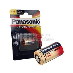 Pila Panasonic CR2 Litio Blister 1 Unidad