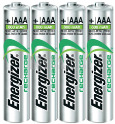 Pila recargable Energizer Extreme HR03 AAA 1.2V 800 mAh (4U)